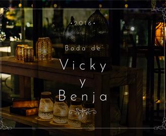 Boda de Vicky y Benja