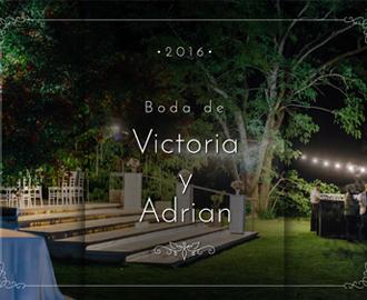Boda de Victoria y Adrian